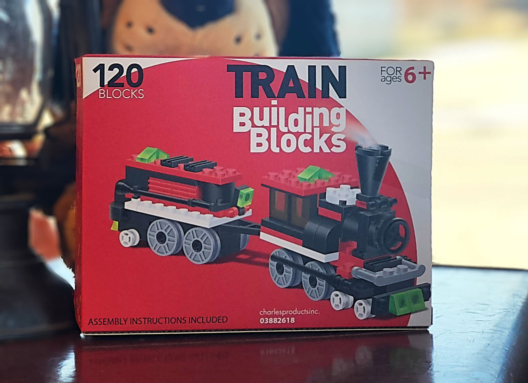 Train Building Blocks- Christmas Steamer