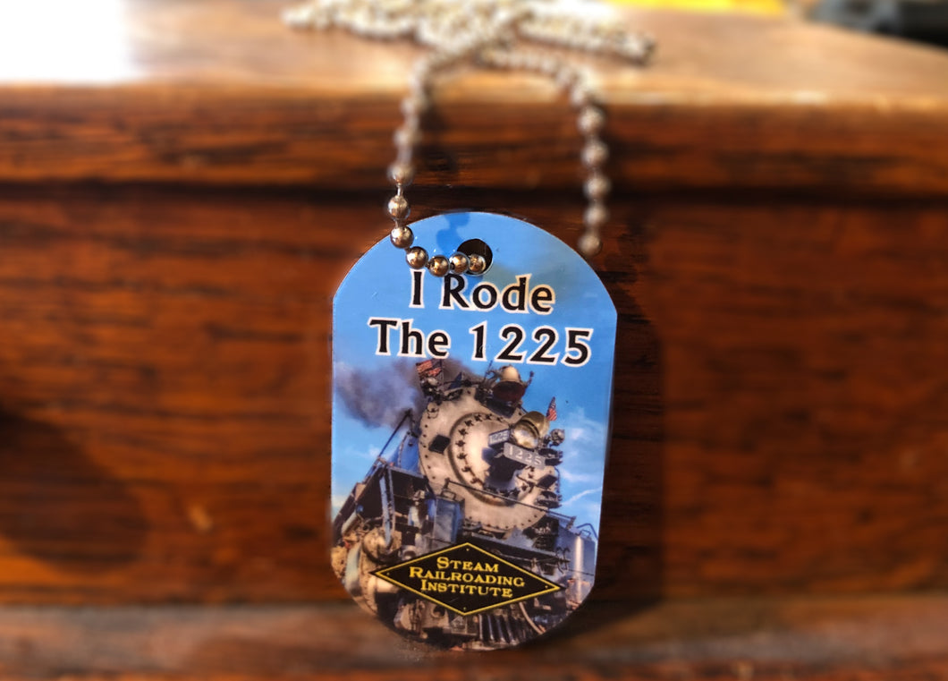 1225 Dog Tag Necklace