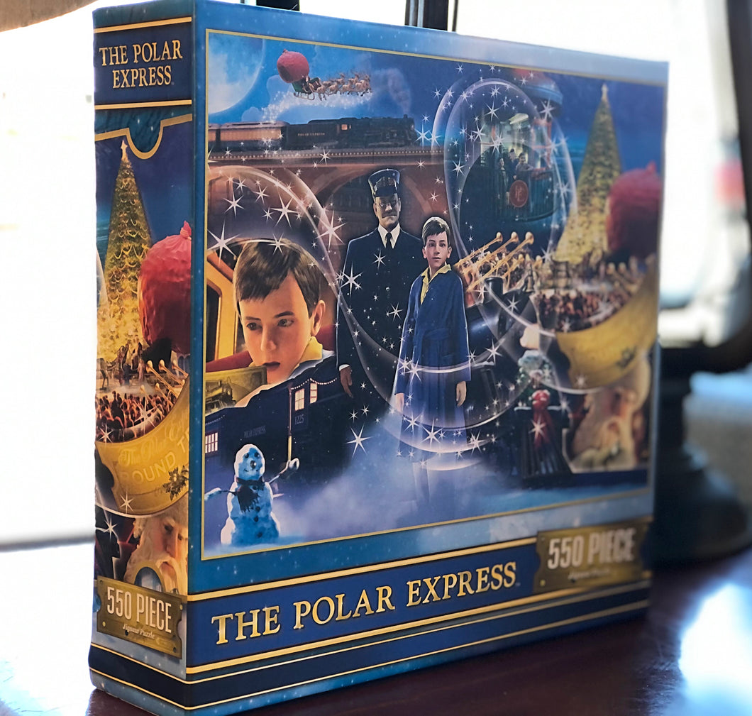 The Polar Express 550 Piece puzzle