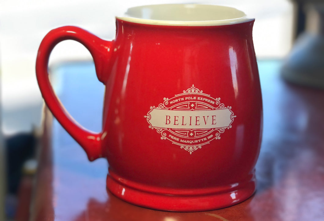 Believe North Pole Express Coffee Mug
