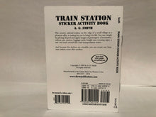 Load image into Gallery viewer, Train Station Sticker Activity Book