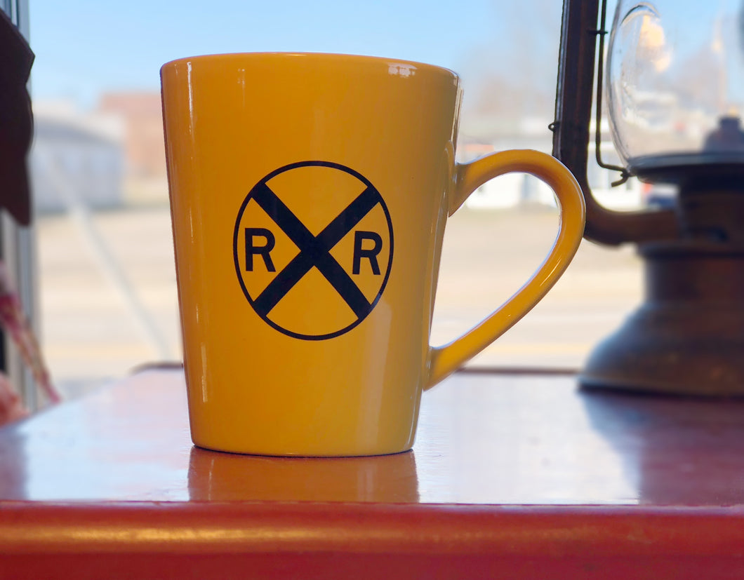 Railroad Crossing Mug