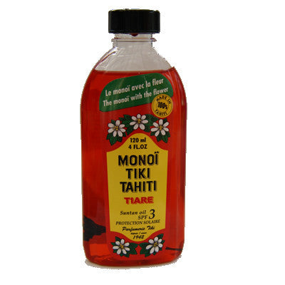 Monoi Tiki Tiare Spf3 120ml Tahiti At Home