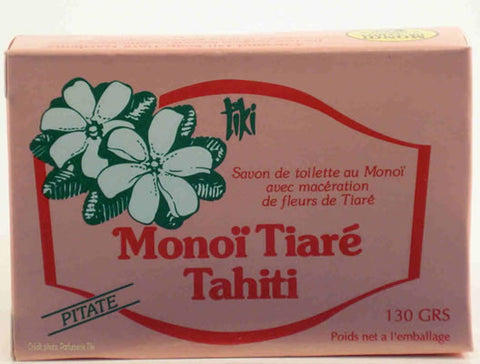 Monoi Soap - Pitate (Jasmine)