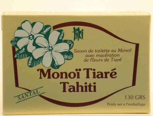 Monoi Soap - Santal (Sandalwood)