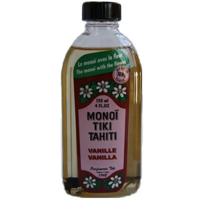Monoi Tiki Vanille Naturel 120ml