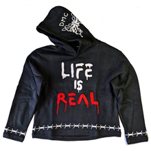 Load image into Gallery viewer, Life Is Real Hoodie