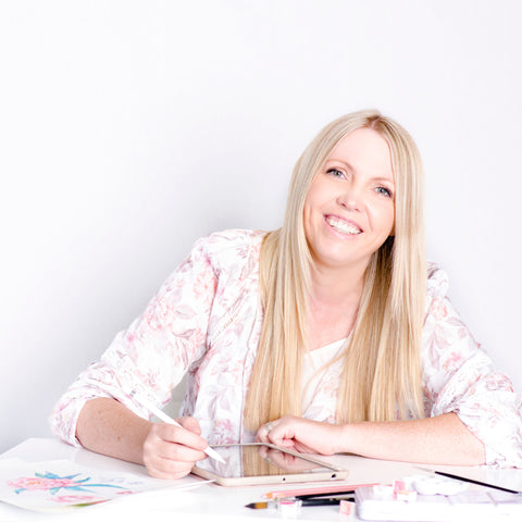 Stacey Bigg - Owner of Stashn Co and Kalaii Creations - Artist Brisbane
