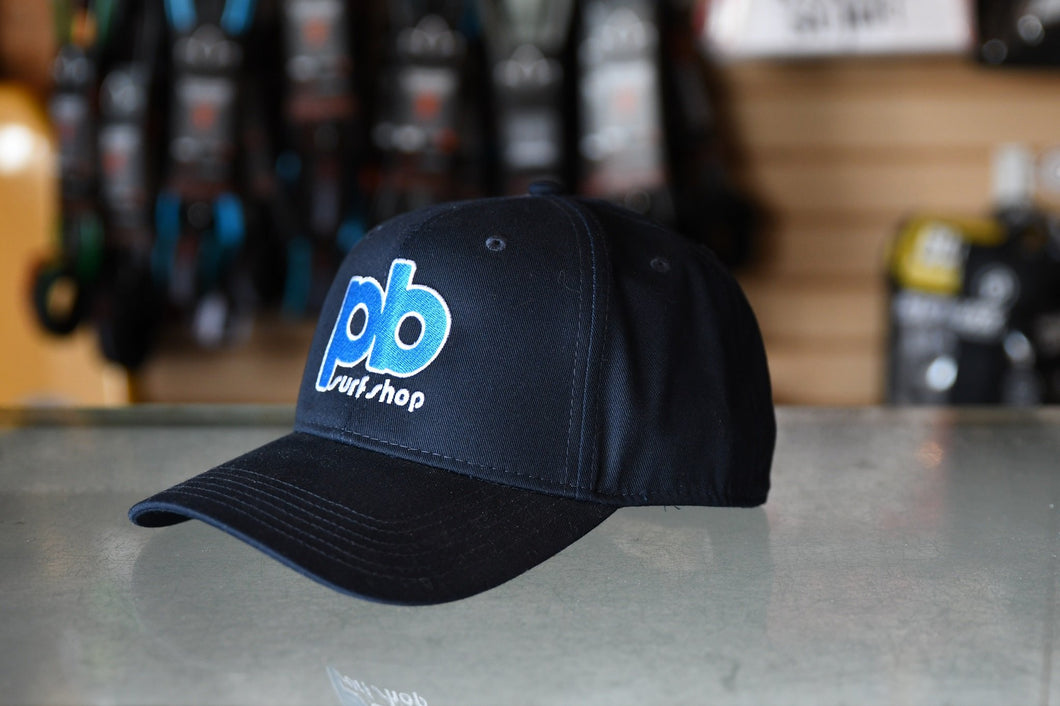 Retro PB Surf Shop Logo Hats