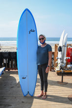 "Load image into Gallery viewer, Rusty ""Moby Fish"" Surfboard"
