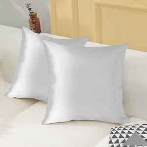 Pack of 4 Silk Cushion Covers