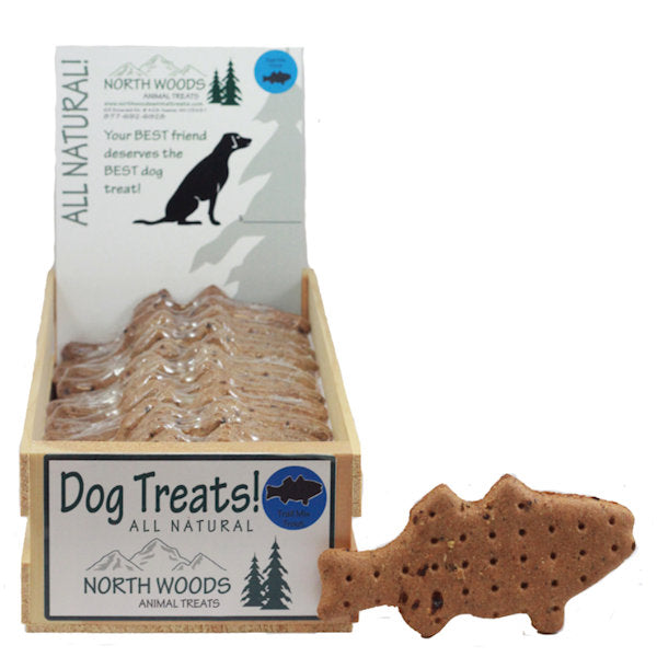 North Woods Dog Treat -Trout