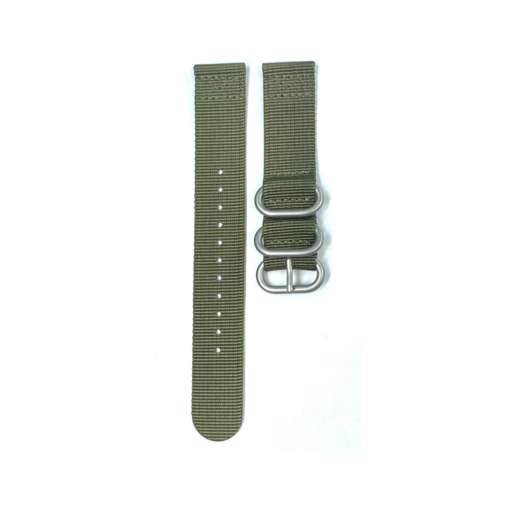 Canvas strap, Military Green color