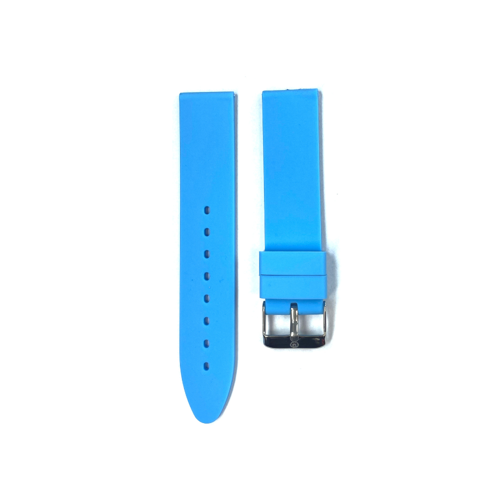 Light Blue Rubber strap