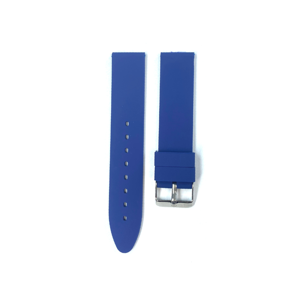 Blue Rubber strap