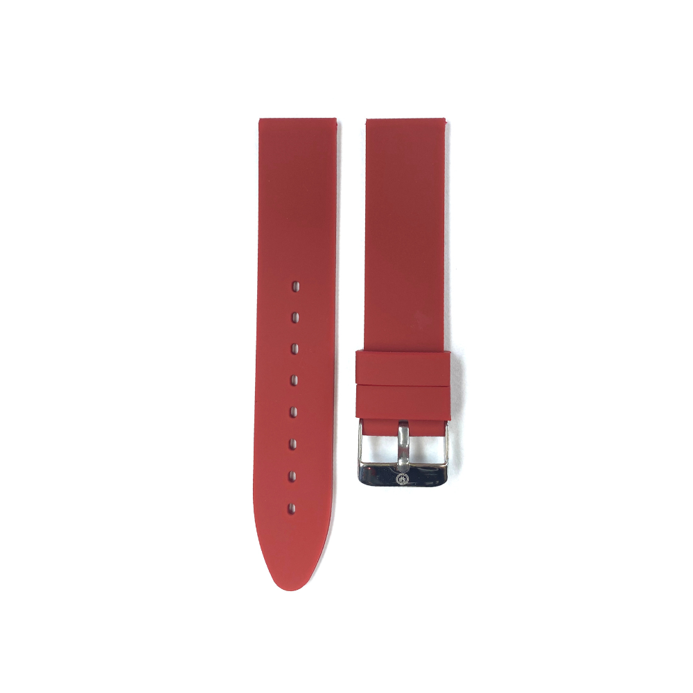 Bordeaux Rubber strap