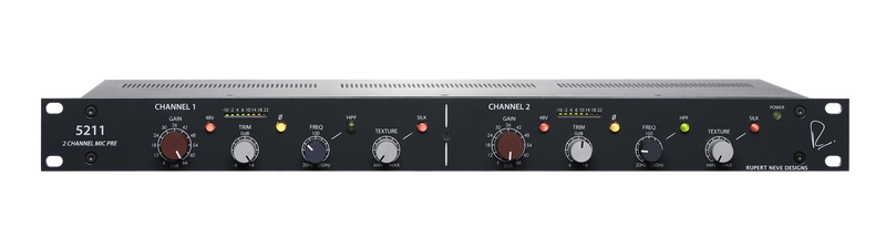 Rupert Neve Designs 5211 2-Channel Mic Pre