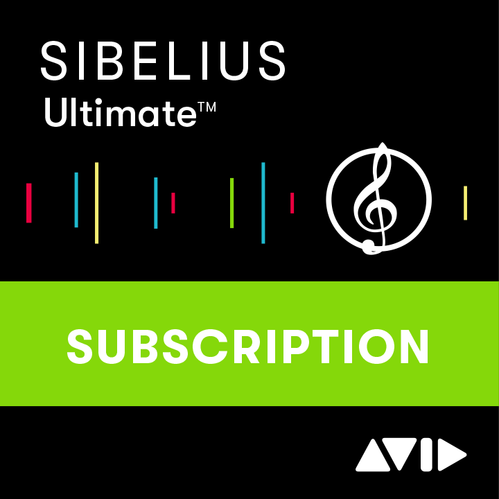 Sibelius | Ultimate 1-Year Subscription NEW
