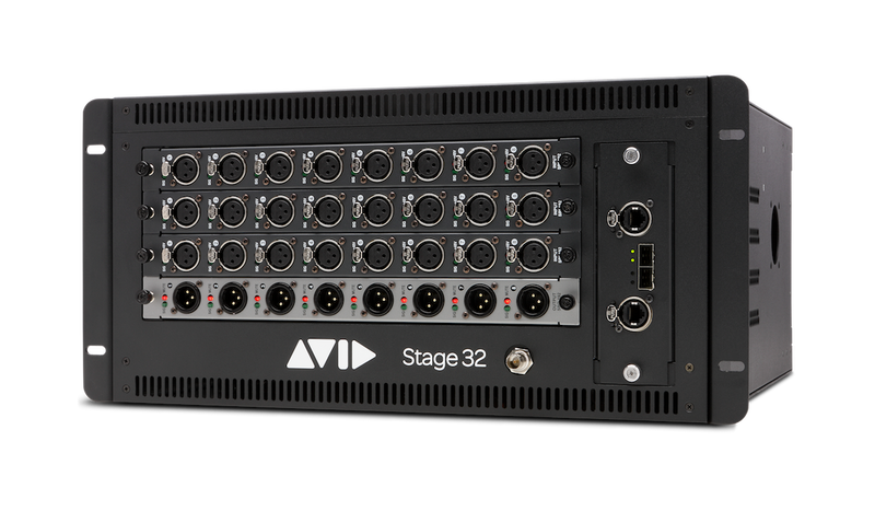 VENUE | Stage 32 Stage Rack (Empty), with 3 Year Avid Advantage Elite Live Support