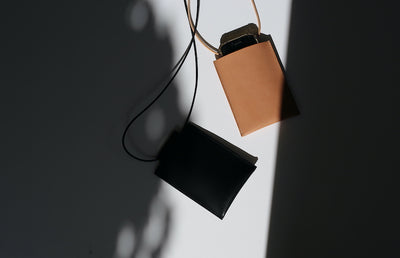 STILL BY HAND Utility Leather Pouch
