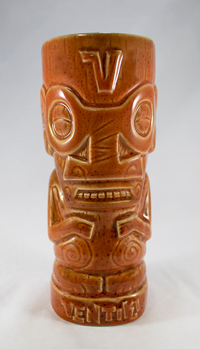 VenTiki Mascot Mug Burnt Orange BY TIKI TONY & TIKI FARM