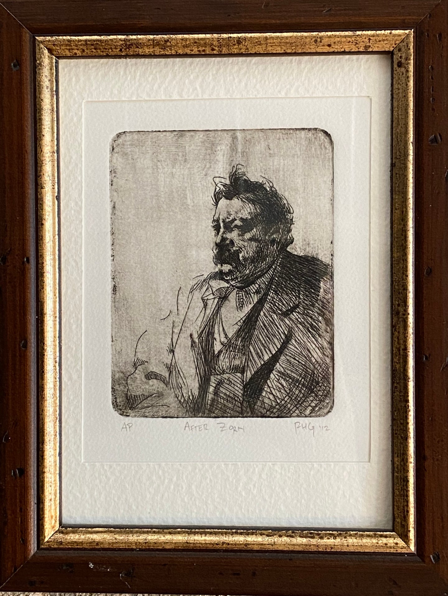 Etching After Zorn