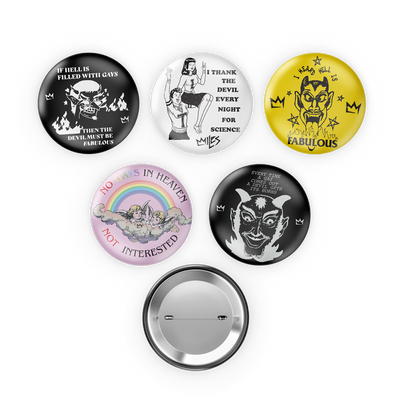 Miles McKenna Button Pack