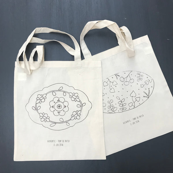 Tote Bag Jou 5.0 - Punt de Patch y Authentic