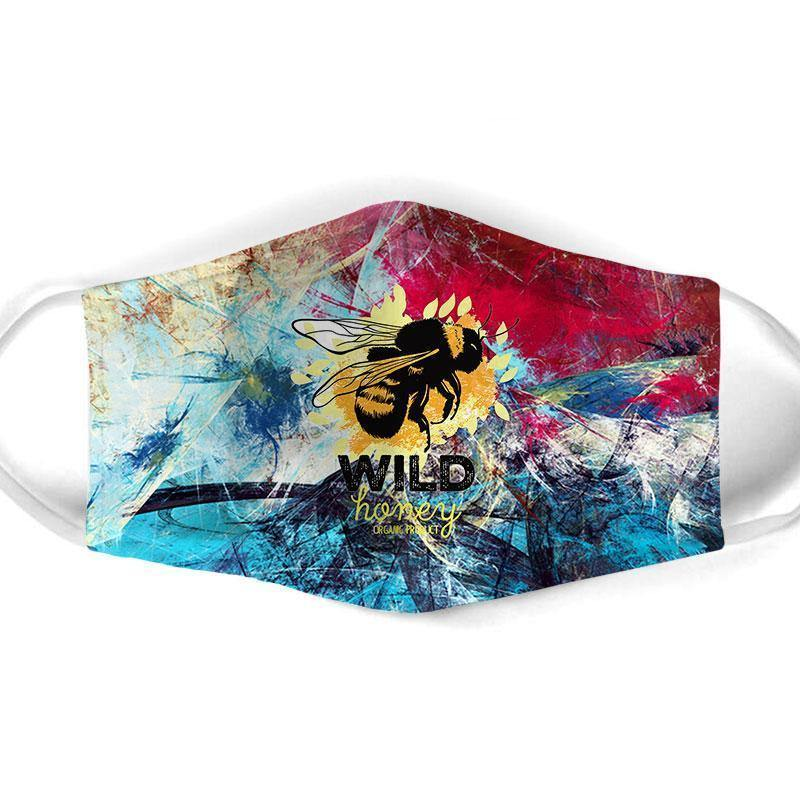 Bee  All Over Prints Cloth Mask 39