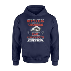 God sent me my grandson - Standard Hoodie - Family Presents