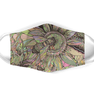 Bee  All Over Prints Cloth Mask 3