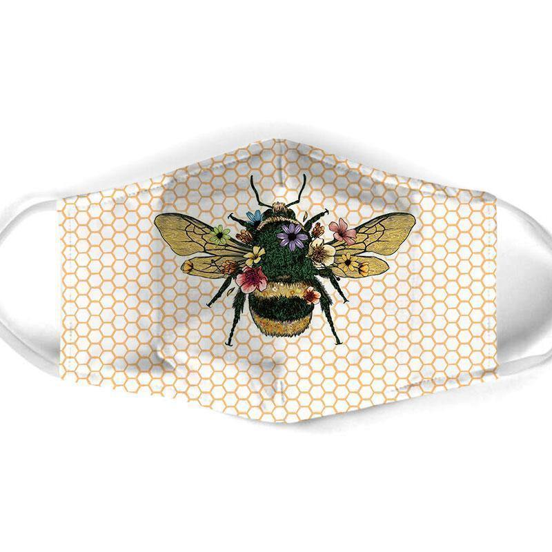 Bee  All Over Prints Cloth Mask 6