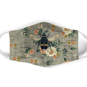 Bee All Over Prints Cloth Mask 33