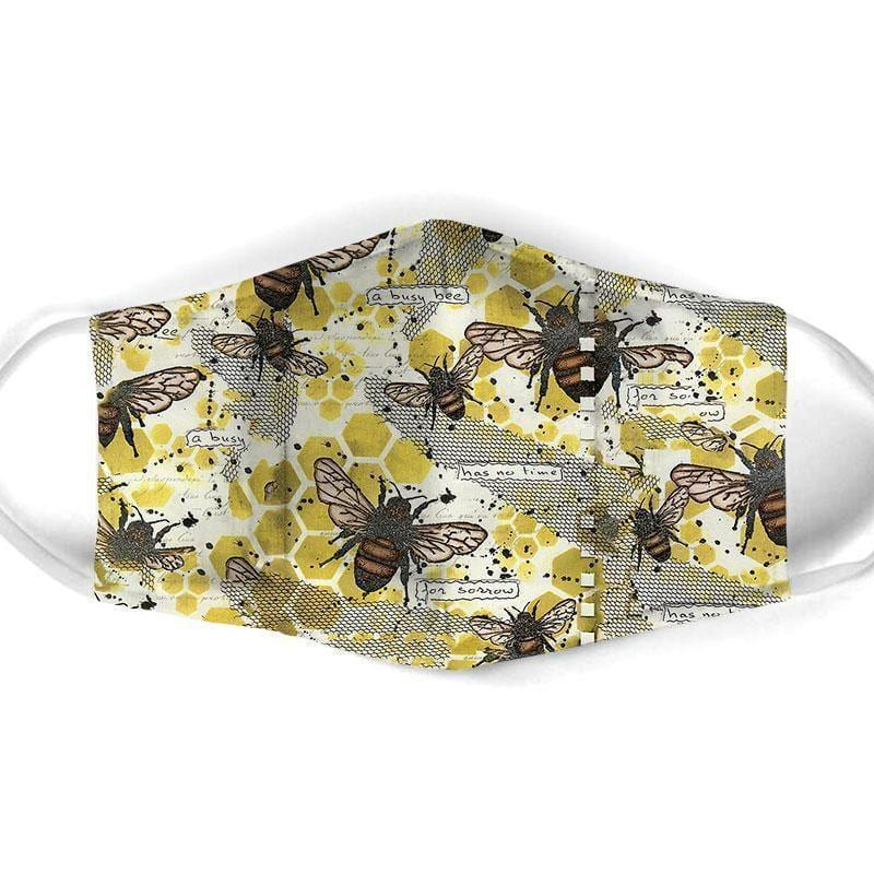 BEE ALL OVER PRINTS CLOTH MASK 41
