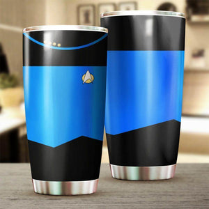 Star Blue Stainless Steel Insulated Tumbler Cups