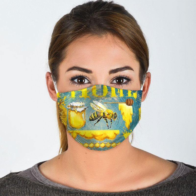 Bee All Over Prints Cloth Mask 65