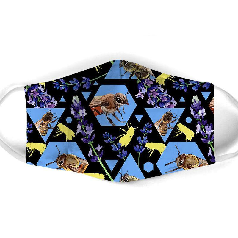 Bee All Over Prints Cloth Mask 61 - Family Presents - Great Blanket, Canvas, Clothe, Gifts For Family