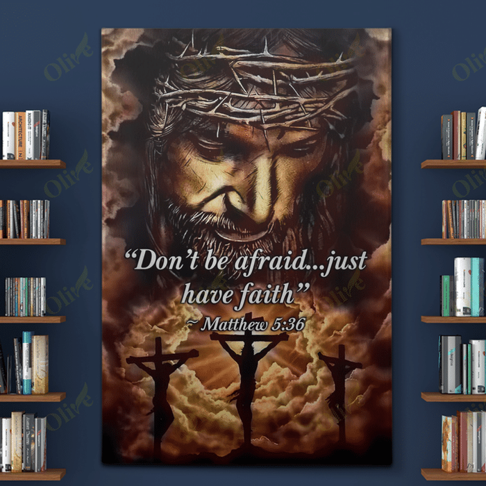 Jesus - Don't be afraid Canvas