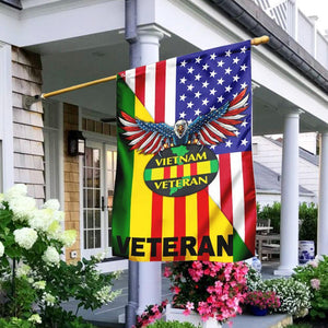 Vietnam Veteran - American Flag - Family Presents - Great Blanket, Canvas, Clothe, Gifts For Family