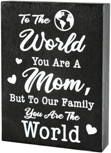 Happy mother's day - The World You are A Mom, But to Our Family You are The World- Mom Quote Saying, Sentimental Gift - Family Presents - Great Blanket, Canvas, Clothe, Gifts For Family