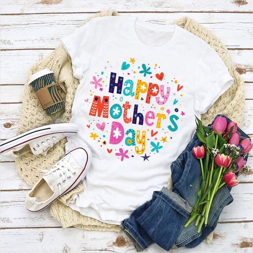 Happy Mother's Day T-Shirt, Mommy T-Shirt, Happy Mother's Day Shirt, Best Mom Ever Shirt, Gift For Mother, Mother's Day Gift - Family Presents - Great Blanket, Canvas, Clothe, Gifts For Family