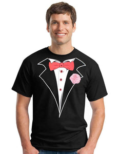 tuxedo T-shirt - Family Presents - Great Blanket, Canvas, Clothe, Gifts For Family