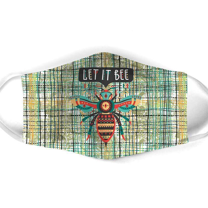 Bee  All Over Prints Cloth Mask 14 - Family Presents - Great Blanket, Canvas, Clothe, Gifts For Family