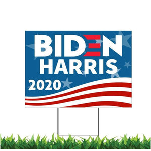 Biden Harris 2020 USA President, Election, Political, Campaign, Yard Sign,