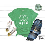 Let's Get Lucked Up Shirt, St. Patrick's Day Shirt, Funny Shirt, Lucky AF, Just Drunk, Shamrock Shirt, This Be My Drinking Shirt - Family Presents - Great Blanket, Canvas, Clothe, Gifts For Family