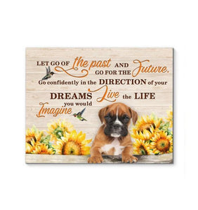 Boxer - Go for the future Canvas - Family Presents - Great Blanket, Canvas, Clothe, Gifts For Family