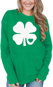 St Patrick's Day Long Sleeve Sweatshirts - Family Presents - Great Blanket, Canvas, Clothe, Gifts For Family