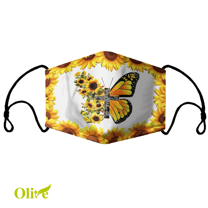 Beautiful butterfly Cloth Mask