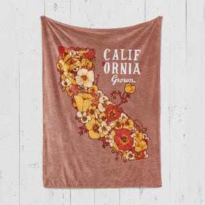 California Grown Rust Blanket