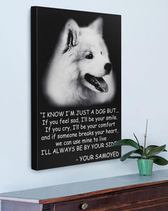 Samoyed Know Gallery Wrapped Canvas Prints - Family Presents - Great Blanket, Canvas, Clothe, Gifts For Family